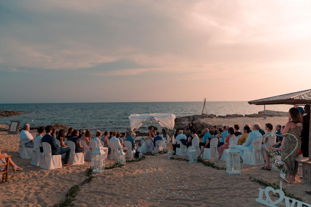 Matrimonio sul mare Gibos